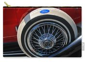 Vintage 1931 Ford Phaeton Spare Tire Carry-all Pouch