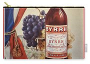 Vintage French Poster Byrrh Carry-all Pouch