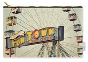 Vintage Funtown Ferris Wheel Carry-all Pouch