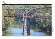 Vintage Garden City Bridge Carry-all Pouch