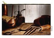 Vintage Gardening Tools Carry-all Pouch