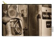 Vintage Gas Pump Showing Its Age Carry-all Pouch
