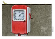 Vintage Gas Station Air Pump 2 Carry-all Pouch