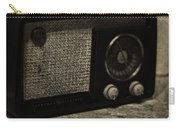 Vintage Ge Radio Carry-all Pouch