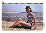 Vintage Glamour Quote Carry-all Pouch