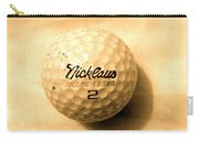 Vintage Golf Ball Carry-all Pouch