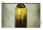 Vintage Green Glass Bottle Carry-all Pouch