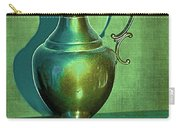 Vintage Green Pewter Pitcher Carry-all Pouch