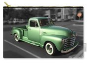 Vintage Green Chevy 3100 Truck Carry-all Pouch