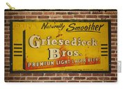 Vintage Griesedieck Bros Beer Dsc07192 Carry-all Pouch