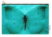 Vintage Grunge Butterfly Carry-all Pouch