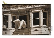Vintage Haight And Ashbury San Francisco Carry-all Pouch by RicardMN Photography