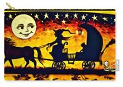 Vintage Halloween Scene Carry-all Pouch