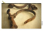 Vintage Handcuffs Carry-all Pouch