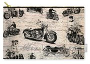 Vintage Harley Davidson Poster Carry-all Pouch