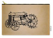 Vintage Henry Ford Tractor Patent Carry-all Pouch
