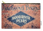 Vintage Hood River Pear Crate Carry-all Pouch