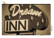 Vintage Hotel - Motel Sign Carry-all Pouch