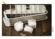 Vintage Ice Cubes Carry-all Pouch by Edward Fielding