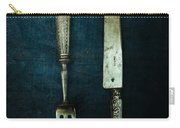 Vintage In Blue Carry-all Pouch