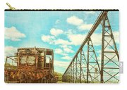 Vintage Industrial Postcard Carry-all Pouch