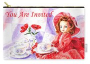 Vintage Invitation Carry-all Pouch