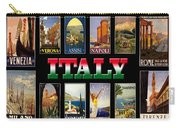 Vintage Italy Travel Posters Carry-all Pouch