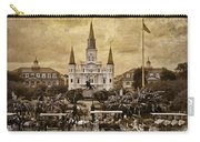 Vintage Jackson Square Carry-all Pouch