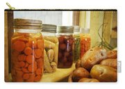 Vintage Jars On A Kitchen Window Carry-all Pouch