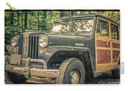 Vintage Jeep Station Wagon Carry-all Pouch