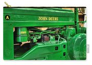 Vintage John Deere Tractor Carry-all Pouch