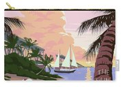 Vintage Key West Travel Poster Carry-all Pouch