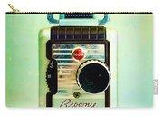 Vintage Kodak Brownie Movie Camera Carry-all Pouch