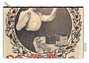 Vintage Kodak Christmas Card Carry-all Pouch