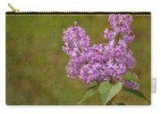Vintage Lilac Bush Carry-all Pouch