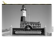 Vintage Looking Montauk Lighthouse Carry-all Pouch
