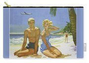 Vintage Los Angeles Travel Poster Carry-all Pouch