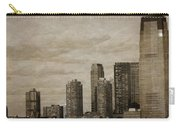 Vintage Manhattan Skyline Carry-all Pouch