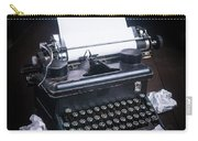 Vintage Manual Typewriter Carry-all Pouch