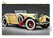 Vintage Mercedes Convertible Carry-all Pouch