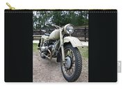 Vintage Military Motorcycle Carry-all Pouch