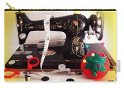 Vintage Mini Sewing Machine Carry-all Pouch