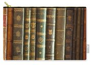 Vintage Music Books On A Shelf Carry-all Pouch