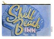 Vintage Neon- Shell Beach Inn Carry-all Pouch