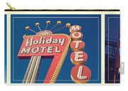 Vintage Neon Signs Trio Carry-all Pouch