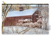 Vintage New England Barn Carry-all Pouch by Bill Wakeley