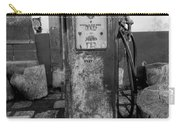 Vintage Old Gas Pump Carry-all Pouch