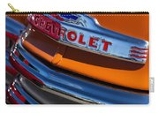 Vintage Orange Chevrolet Carry-all Pouch by Carol Leigh
