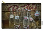 Vintage Pepsi Crate And Bottles Carry-all Pouch