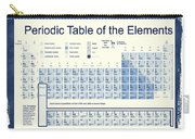 Vintage Periodic Table Of The Elements Carry-all Pouch by Dan Sproul